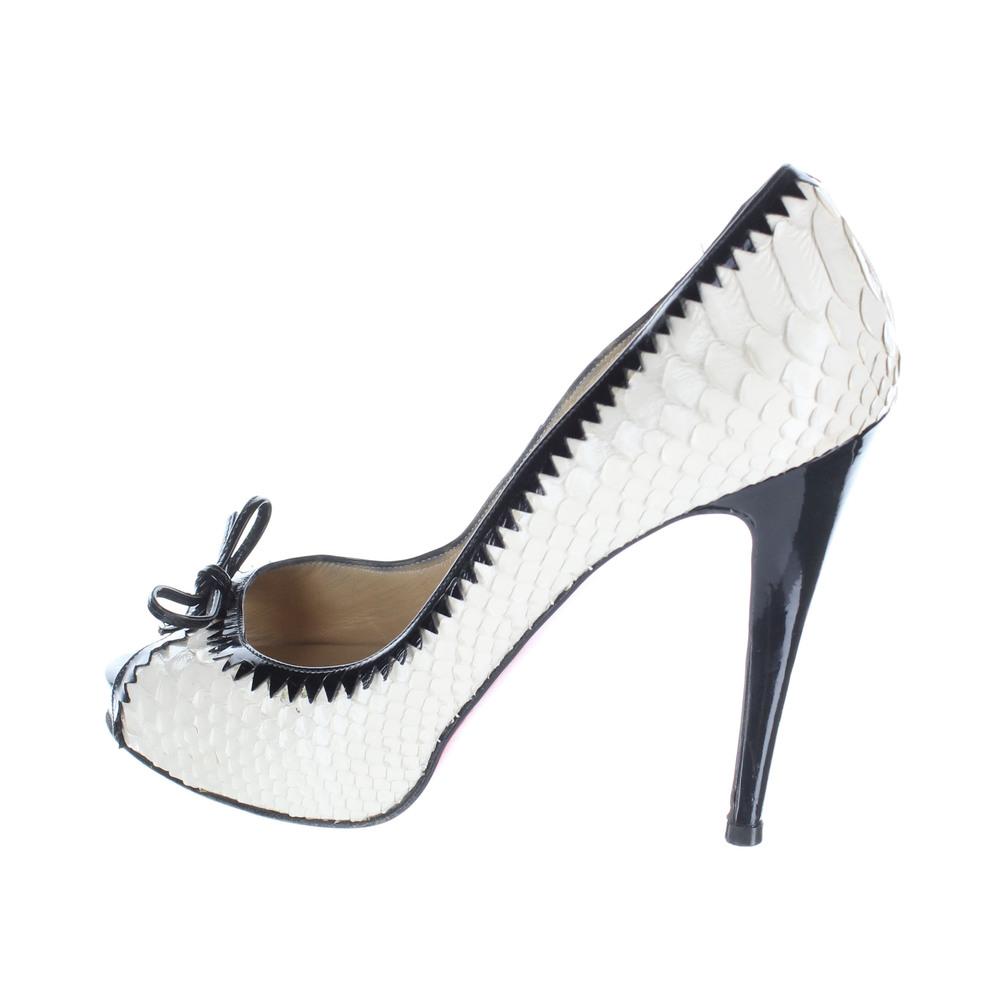 premium selection 4191f 006b3 Cudoni   Christian Louboutin Luxury Python High Heel Shoes ...